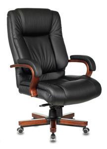 Кресло офисное Бюрократ T-9925WALNUT черный