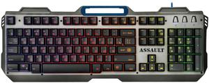 Клавиатура проводная Defender Assault GK-350L серый