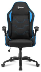 Кресло игровое Sharkoon Elbrus 1 синий