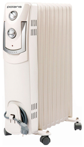 Радиатор масляный Polaris PRE M 1125 2500Вт белый
