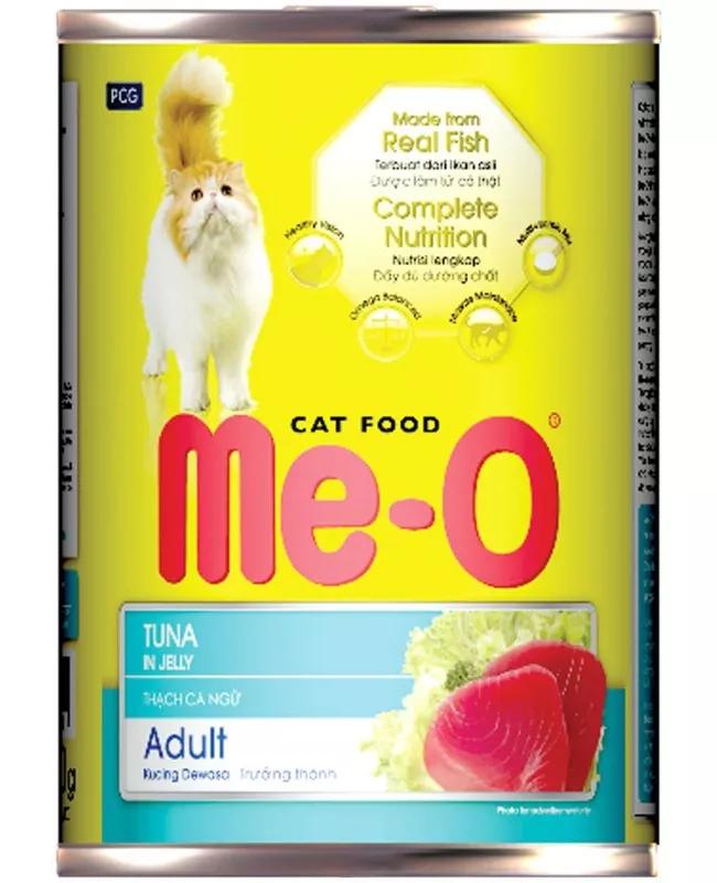Влажный корм для кошек Me-O Консервы - Тунец 400 г ( 12 шт. в уп.)