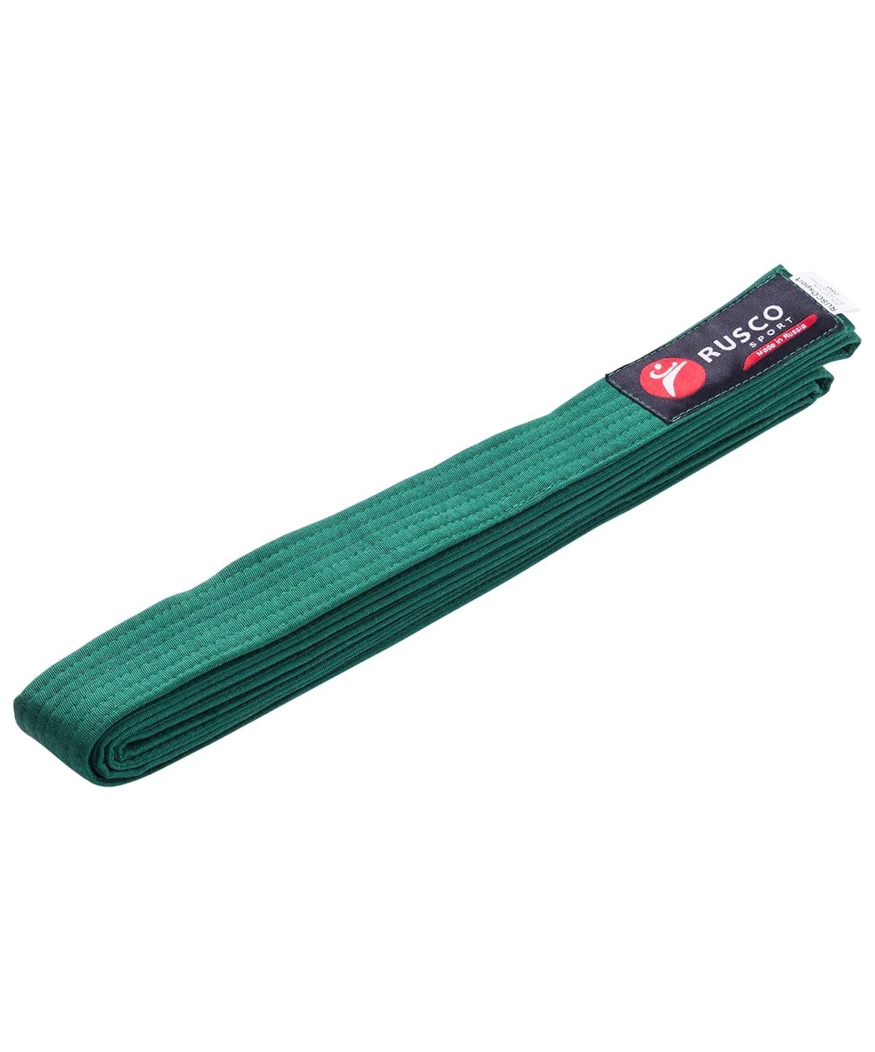 Пояс для единоборств, 240 см, зеленый