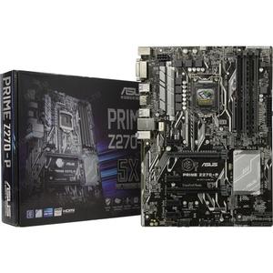 Материнская плата ASUS PRIME Z270-P (RTL) LGA1151 < Z270 > 2xPCI-E DVI+HDMI GbLAN SATA ATX 4DDR4, после ремонта