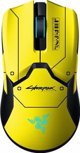 Мышь проводная Razer Razer Viper Ultimate & Mouse Dock Cyberpunk 2077 желтый