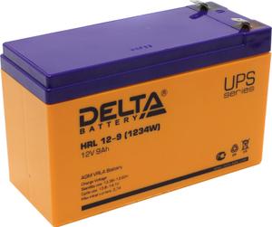 Аккумулятор Delta HRL 12-9 (12V, 9Ah) для UPS