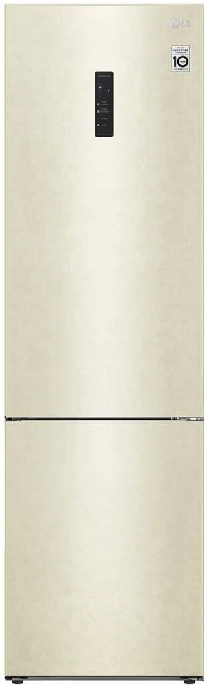 Холодильник LG GA-B509CETL бежевый