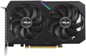 Видеокарта Asus GeForce RTX 3060 [DUAL-RTX3060-O12G-V2] 12 Гб