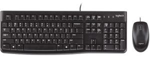 Комплект клавиатуры и мыши Logitech Desktop MK120