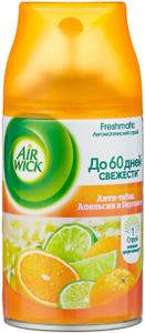 Освежитель воздуха (сменный флакон) Апельсин и бергамот Air Wick 250мл