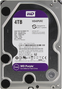 Жесткий диск Western Digital Purple [WD40PURZ] 4 Тб