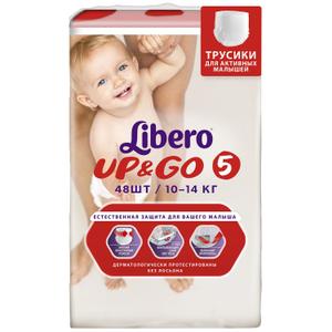 Трусики-подгузники Up&Go №5 (10-14 кг) /48 шт. Libero