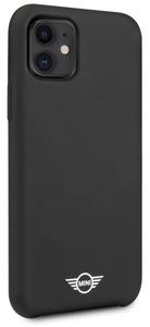 Чехол MINI для iPhone 11 чехол Liquid silicone Hard Black