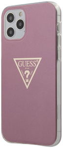 Чехол накладка Guess для Apple iPhone 12 Pro Max розовый