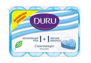 Мыло Морские минералы 4шт*90гр Duru