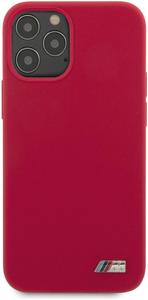 Чехол накладка BMW для Apple iPhone 12 Pro Max красный
