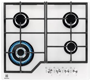 Газовая варочная панель Electrolux GPE363YV белый