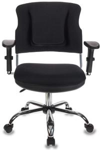 Кресло офисное Бюрократ CH-323AXSN черный