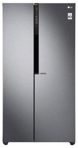 Холодильник LG GC-B247JLDV серебристый