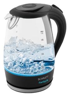 Чайник электрический Scarlett SC-EK27G74 черный