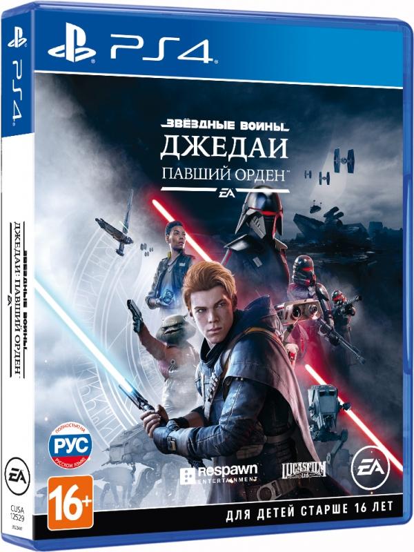 Игра на PS4 Звёздные Войны Джедаи: Павший Орден [PS4, русская версия]
