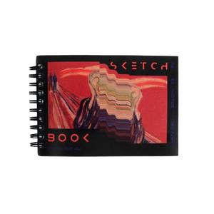 Скетчбук горизонтальный А6, 60 листов 190 г/м2 «Крик»