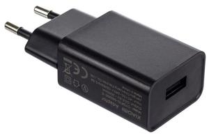 Сзу Type C Xiaomi MDY-03-EF Dc5v=2A/fast charger черный, нет кабеля