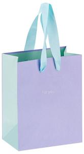 """Пакет подарочный 18*23*10см MESHU """"Duotone. Lavender"""", отд. фольгой, матовая ламинация"""