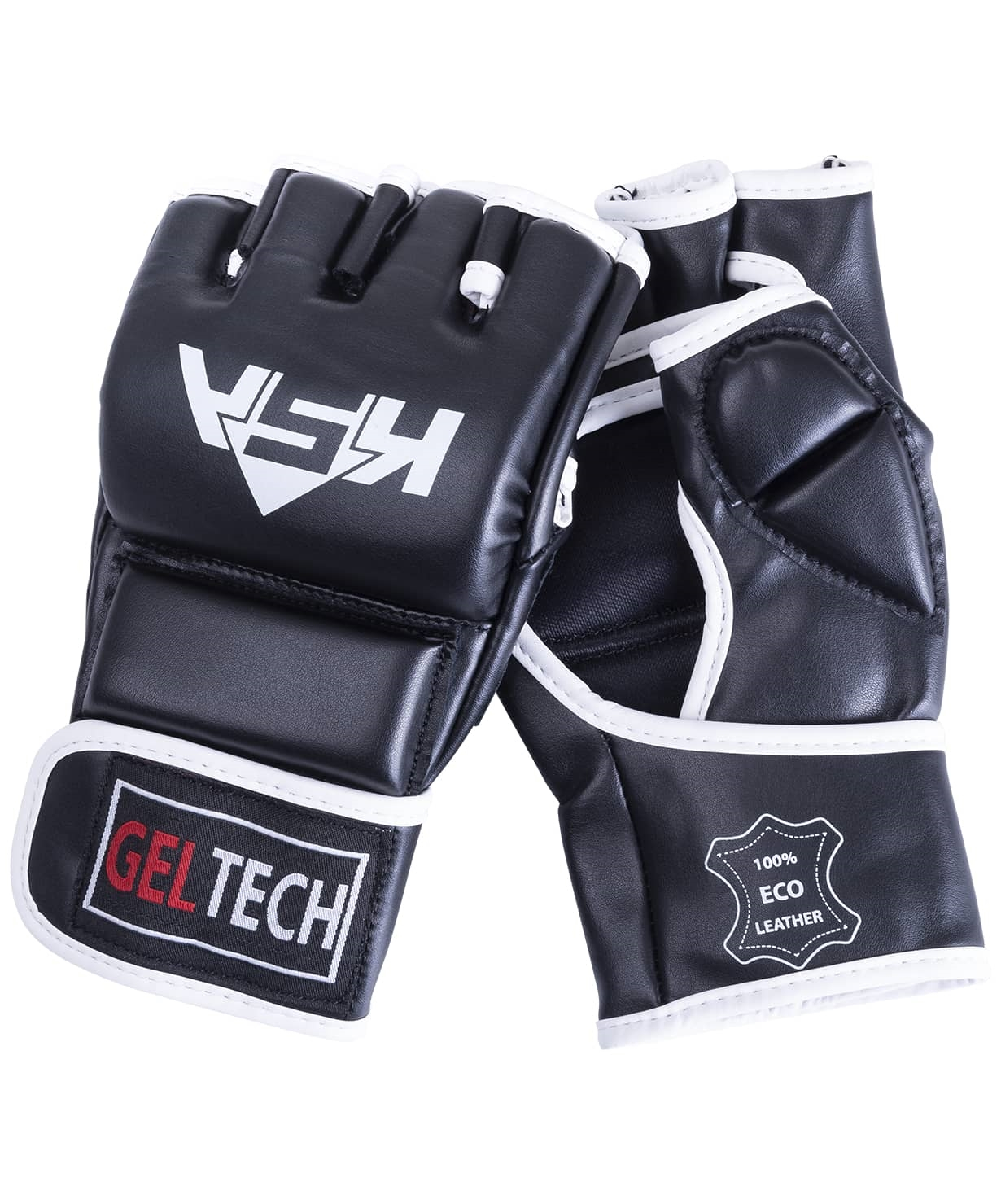 Перчатки для MMA Lion Gel Black, к/з, S
