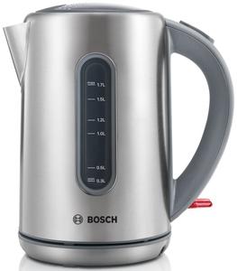 Чайник электрический Bosch TWK 7901 серебристый