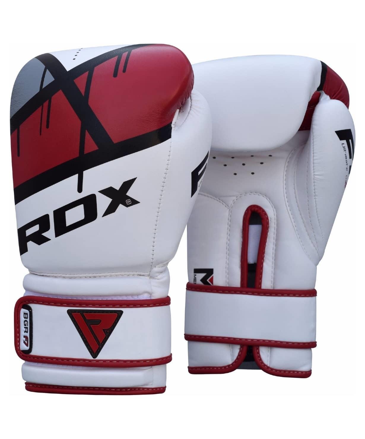 Перчатки боксерские BGR-F7 RED BGR-F7R, 12 oz