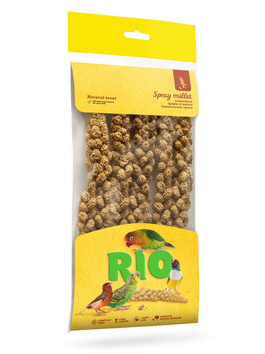 """RIO / Лакомство для всех видов птиц """"Сенегальское просо"""" 100 гр."""