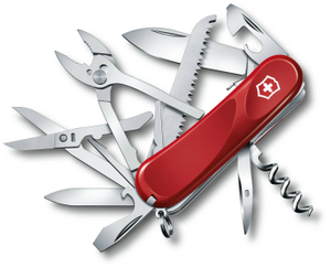 Нож перочинный Victorinox Evolution S52 (2.3953.SE) 85мм 20функц. красный карт.коробка