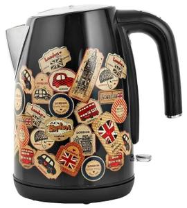 Чайник электрический Polaris PWK 1882CA London черный