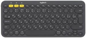 Клавиатура беспроводная Logitech K380 черный