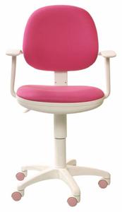 Кресло детское Бюрократ CH-W356AXSN розовый