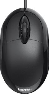 Мышь проводная Hama MC-100 черный