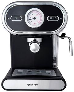 Кофеварка рожковая Kitfort КТ-702 черный