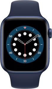 Смарт-часы Apple Watch Series 6 44mm M00J3RU/A синий