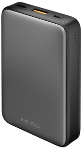 Портативное ЗУ EnergEA АКБ Compac Alumini 10000 mAh серый