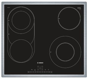 Электрическая варочная поверхность Bosch PKM645FP1R черный