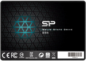 Накопитель SSD Silicon Power Slim S55 [SP120GBSS3S55S25] 120 ГБ