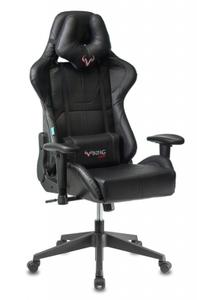 Кресло игровое Бюрократ Zombie VIKING 5 AERO черный