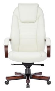 Кресло офисное Бюрократ T-9923WALNUT белый