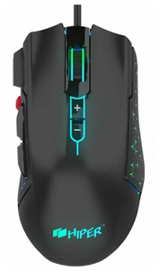 Мышь проводная HIPER GMUS-3000 DRAKKAR черный