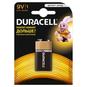 Батарейка Duracell 6LR61-1BL /6LF22-1BL (1 шт)