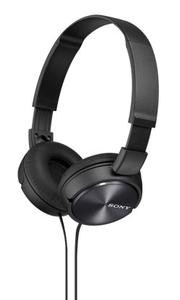 Наушники накладные Sony MDRZX310B.AE 1.2м черный проводные (оголовье)
