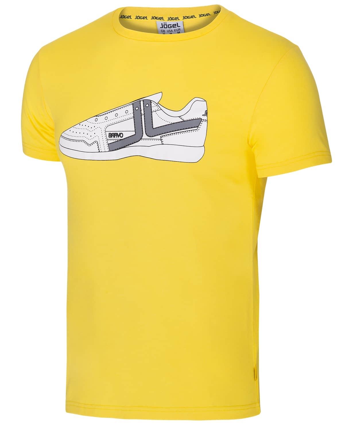 Футболка JCT-5202-041, хлопок, желтый/белый, детская