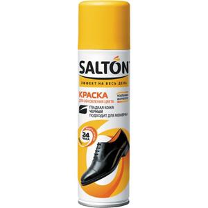 Краска для  кожи 250мл черная Salton