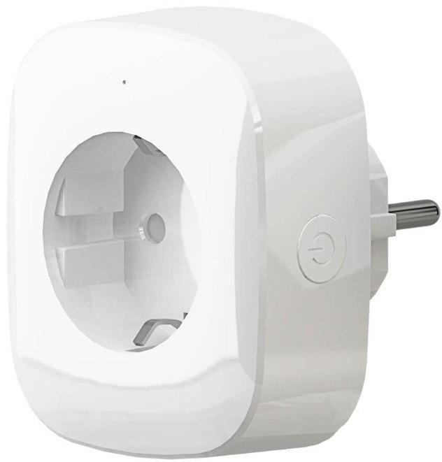 Розетка HIPER IoT P03,16А, с защитной шторкой, с заземлением, белый