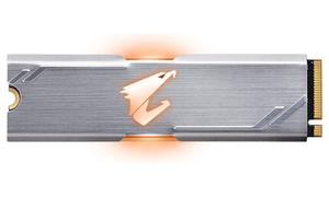 Накопитель SSD GIGABYTE AORUS RGB [GP-ASM2NE2256GTTDR] 256 Гб